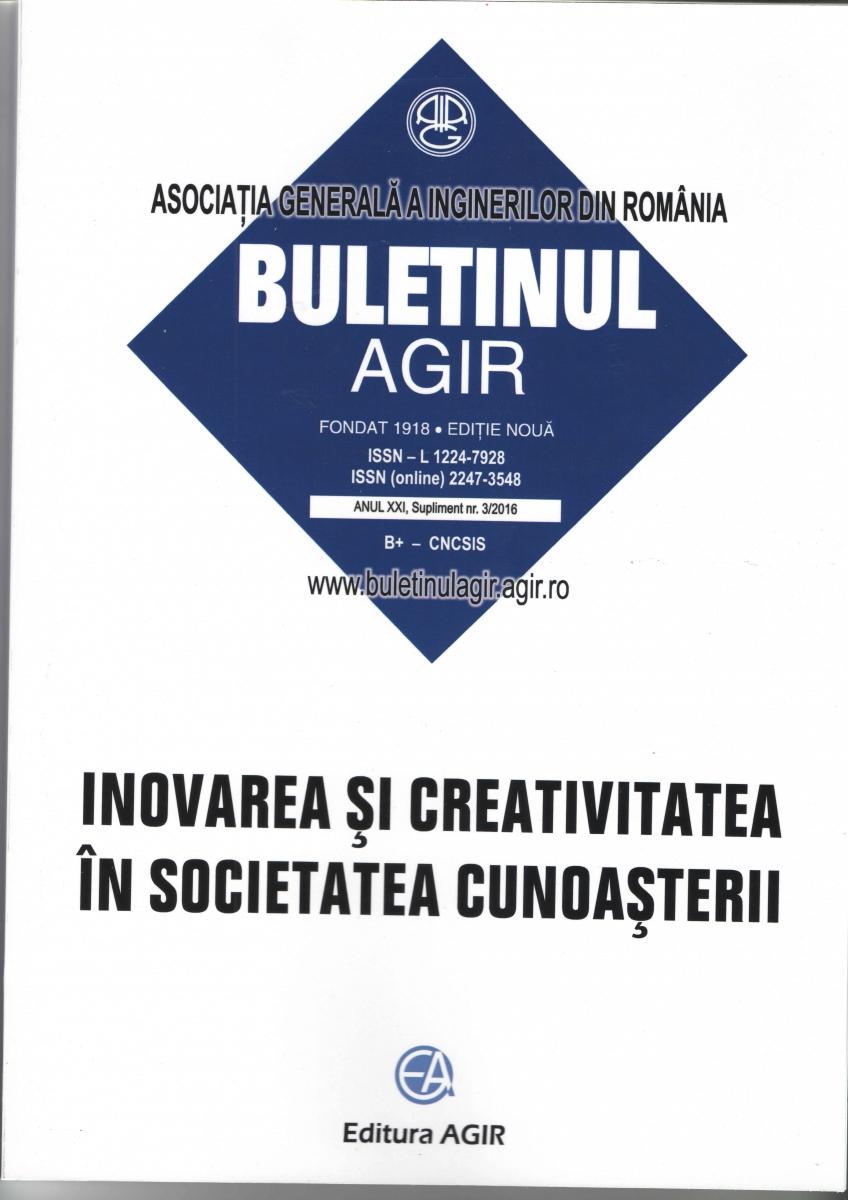Buletinul AGIR                        supliment 3/2016