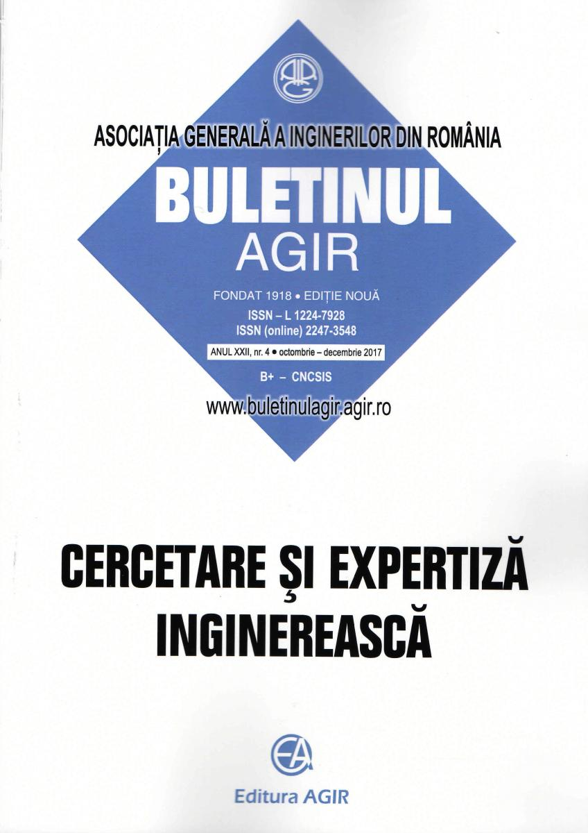 Buletinul AGIR nr.4/2017