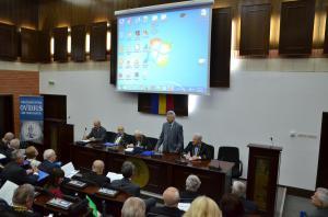 Sorin Rugină - Rector UOC